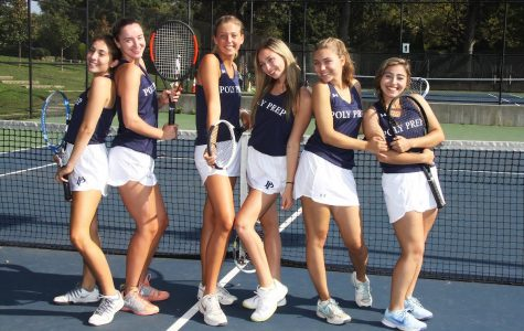 Girls' Tennis Emerges Victorious at Homecoming