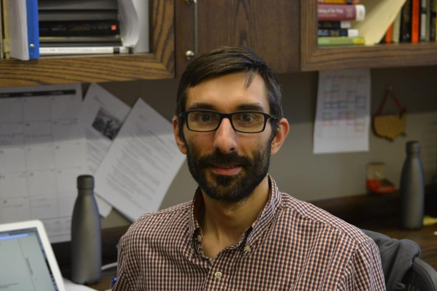 History teacher Tim Shea brings his expertise in Southeast Asian and art history to Poly.