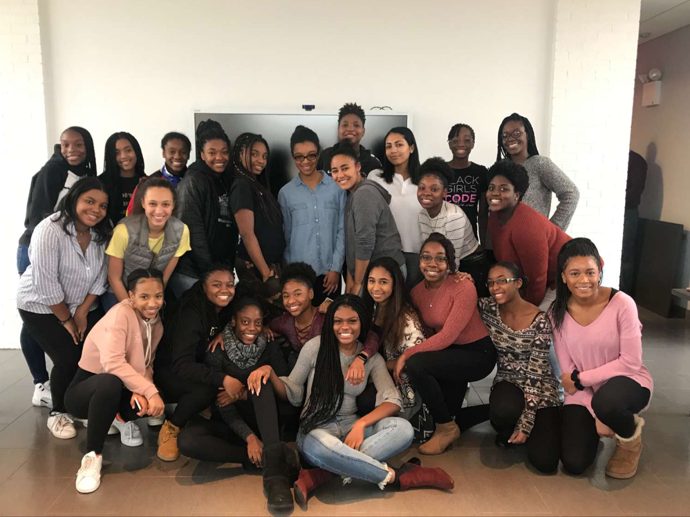 Lemonade's first meeting. Francis started the group in order to cultivate a sense of unity among Poly's black girl community.