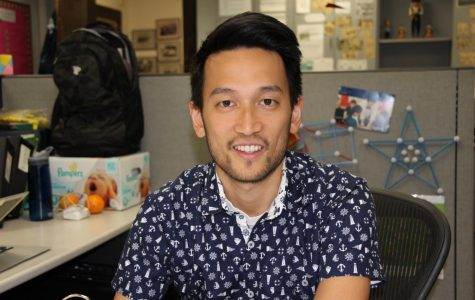Math teacher Nicholas Lee will continue teaching in California.