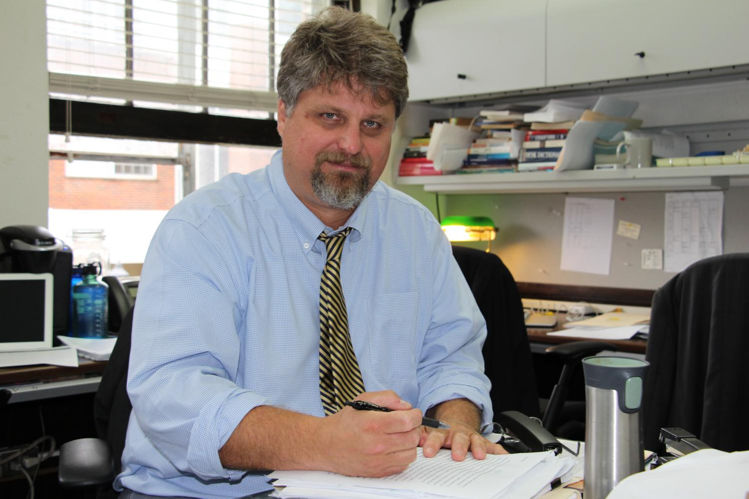New Head of English Department Peter Nowakoski