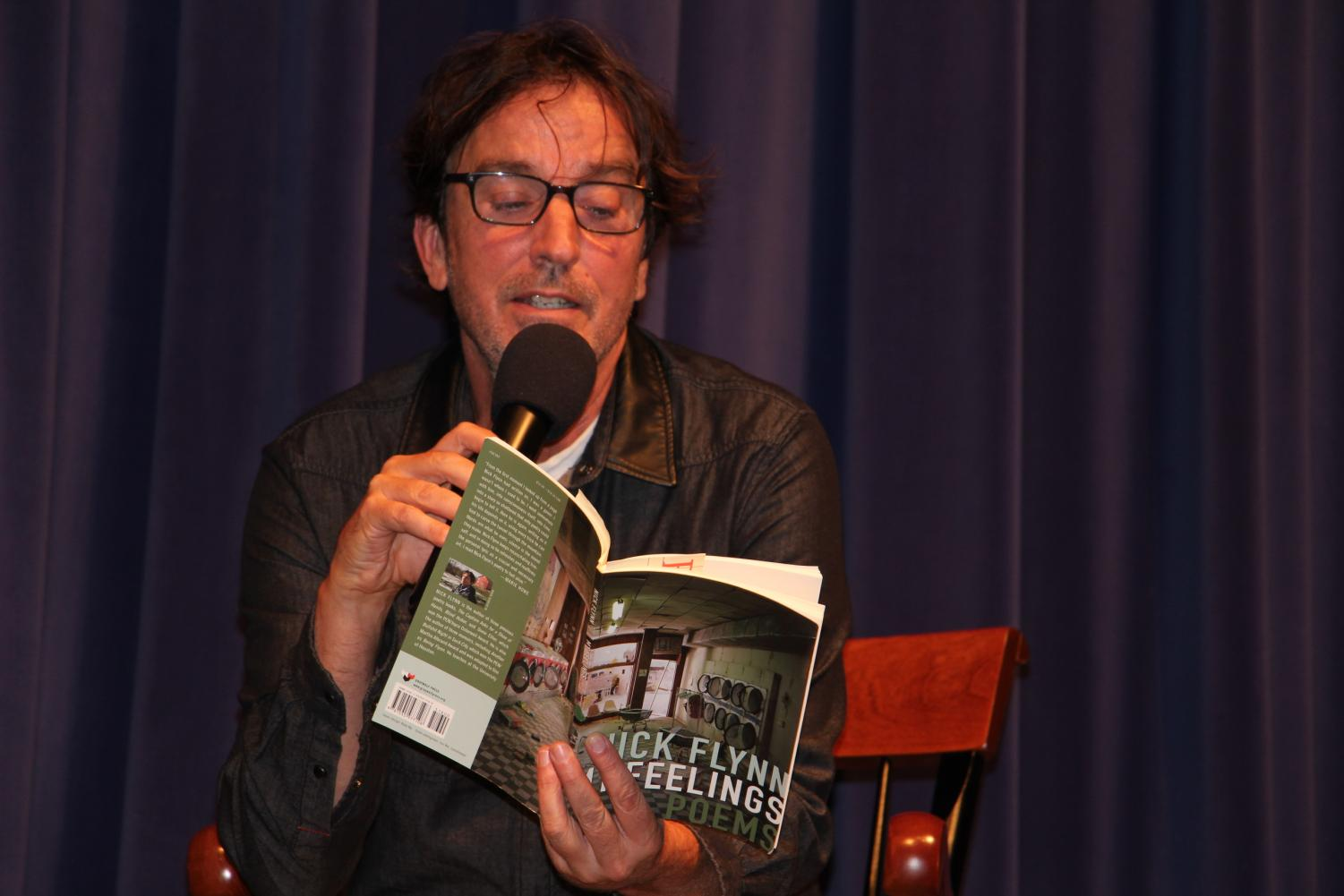 Award-winning poet and author Nick Flynn reads from his book of poems, My Feelings.