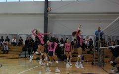 Girls' Varsity Volleyball Sets Up for a Great Season