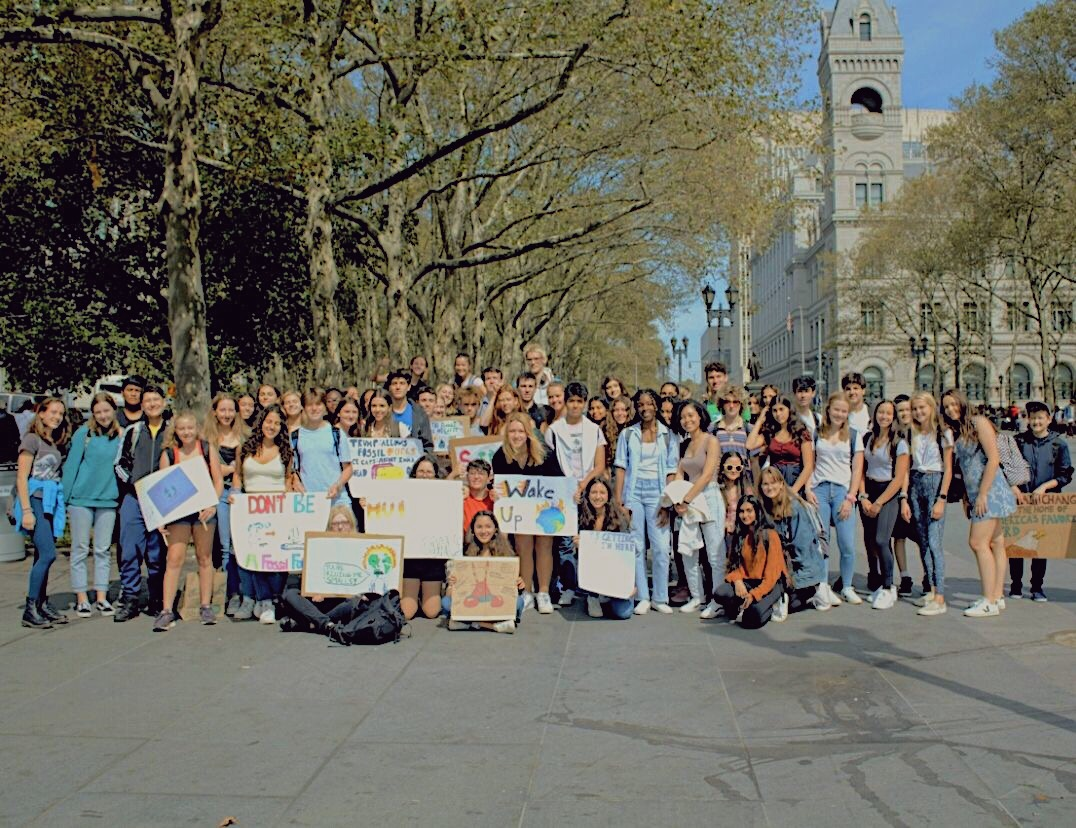 Poly students took part in the worldwide Climate Strike.