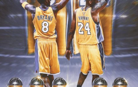 Official artwork to announce Bryant's retirement.